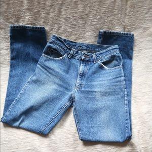 Vintage high wasted Lee brand jeans